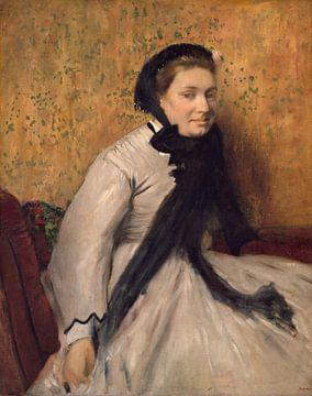 Portrait d'une femme à Gray, Edgar Degas sur