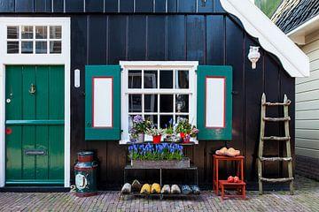 Vissershuisje in Marken van Portrait of Holland