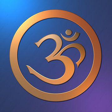 Mantra AUM. Symbool van het Absolute van Paul Evdokimov