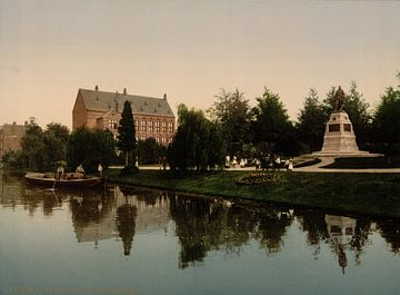 Van der Werfpark, Leiden von Vintage Afbeeldingen