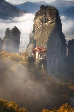 Misty Meteora van Konstantinos Lagos