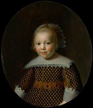 Portrait d'un jeune garçon, Paulus Moreelse