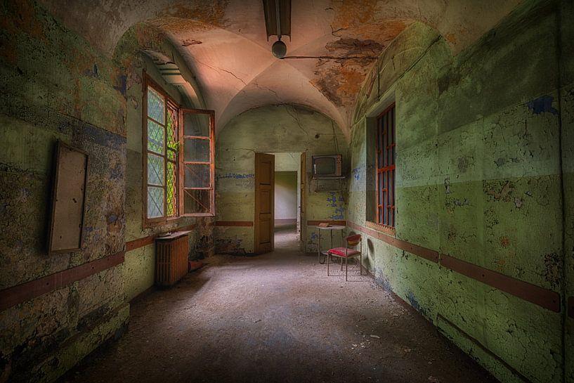 Eenzame kamer van Maikel Brands