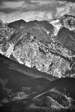Österreichische Berge 3 von Bart Rondeel
