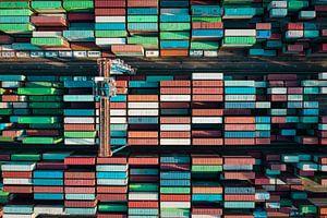 Kleurrijke Containers van