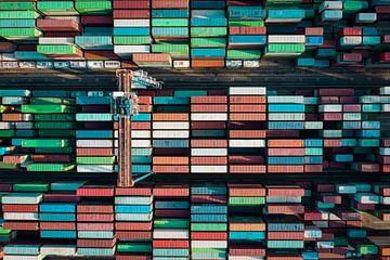 Kleurrijke Containers van Frank Maters