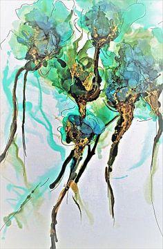 Blaue Veilchen von Ineke de Rijk
