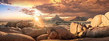 Sonnenuntergang Spitzkoppe von Thomas Froemmel