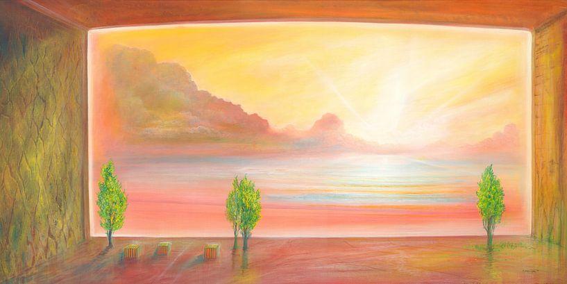 Seefenster van Silvian Sternhagel