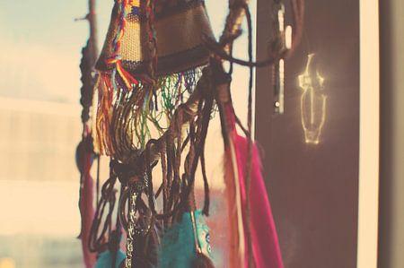 Bohemian dromenvanger lichtreflectie