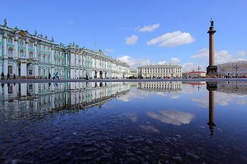 Schlossplatz St. Petersburg van