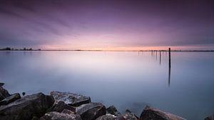 Sunset at Marken.