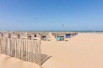 Der Strand von Katwijk am Meer von Charlene van Koesveld