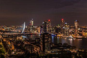 Rotterdam Skyline van Nick Janssens