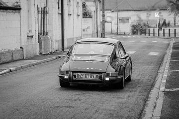Oude Porsche van