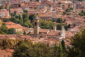 Stadtbild Bergamo von Rob Boon