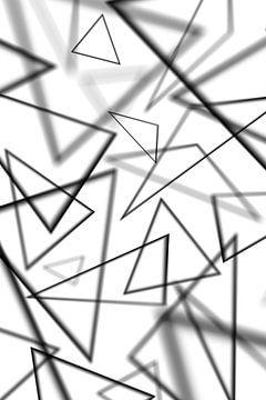 Schwarze Dreiecke von Jörg Hausmann