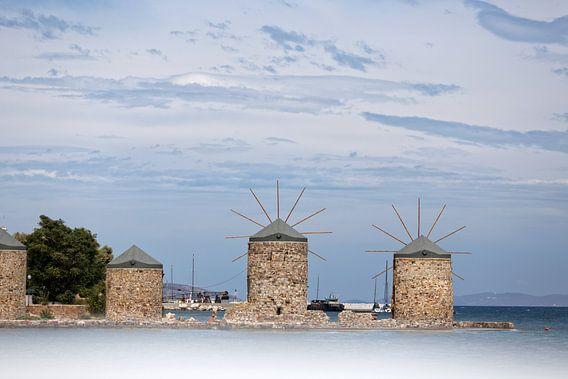 Molens in Griekenland