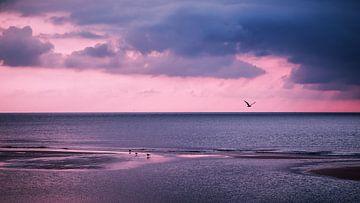 Sylt - Nordsee-Wolkenlandschaft von Alexander Voss
