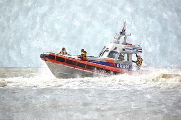 "KNRM Reddingsboot ""Paul Johannes"" van Floris De Mol"