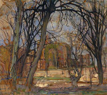 Springsonne, Ruine von Brederode, Piet Mondriaan
