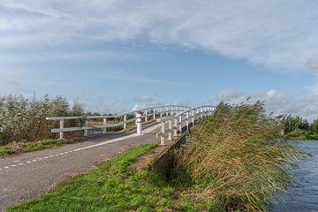 Brücke über die Groote oder Achterwaterschap von Beeldbank Alblasserwaard