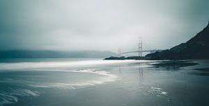 Golden Gate vanaf Baker Beach
