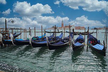 Gondoles à Venise sur Jan Kranendonk