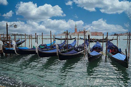 Gondolas in Venetië