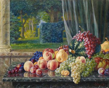 Stillleben mit Früchten, Burkhard Flury