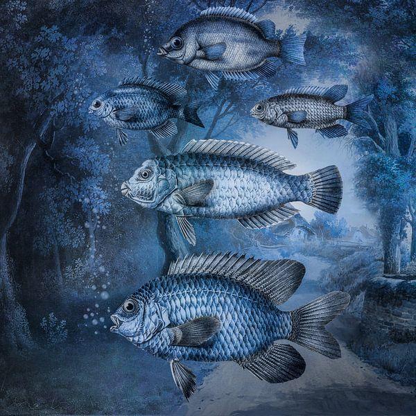 A Flock of Fish van Marja van den Hurk