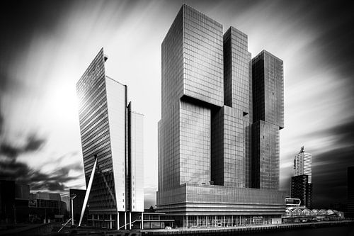 De Rotterdam met extreem lange sluitertijd van