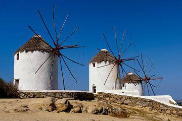 Mykonos windmolens van Atelier Liesjes