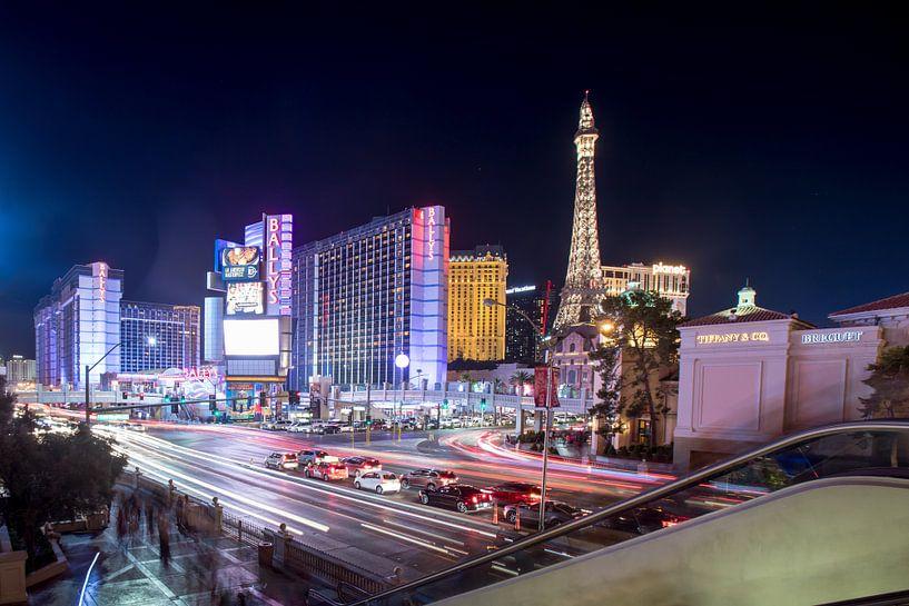 Las Vegas by night van Hans Jansen