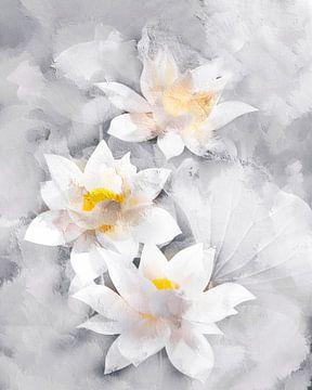 Lotusbloemen van Jacky Gerritsen