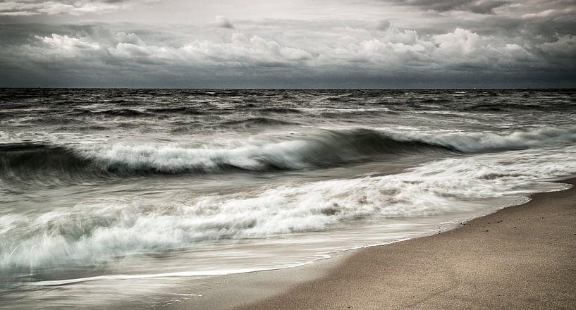 Seascape van Claudia van Zanten