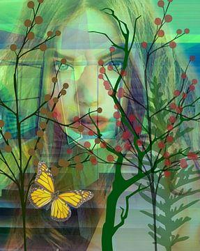 Papillons dans l'estomac sur Gertrud Scheffler