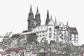 Albrechtsburg Meissen van Gunter Kirsch