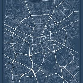 Neurenberg, blauw van Geodat