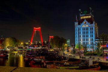 Oude Haven Rotterdam van Fleksheks Fotografie
