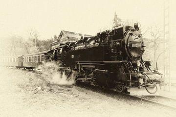 Stoomtreinen in de Harz, tijden van weleer herleven von Hans Brinkel