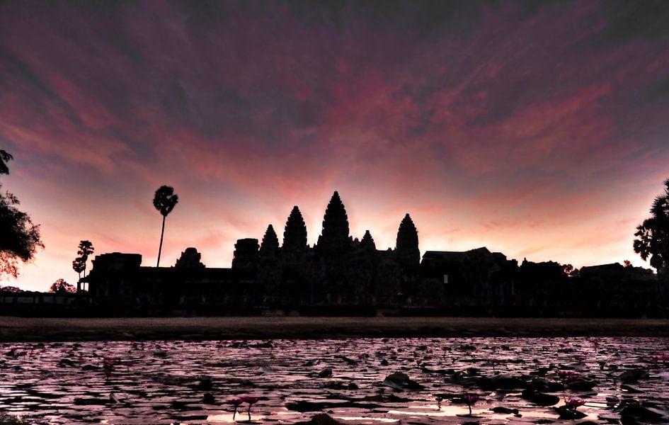 Angkor Wat Sunrise van BL Photography