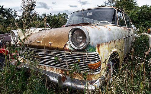 Opel Rekord P1 Chevrolet Caravan - 1958 van Jan Sportel Photography