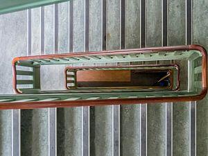 Het trappenhuis van het voormalig Prinsengrachtziekenhuis.