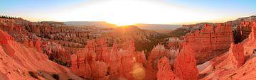 Bryce Canyon Panorama bij zonsopkomst