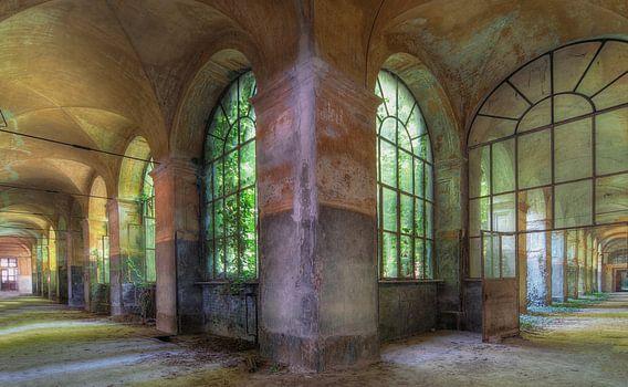Hospital in Italië van Truus Nijland