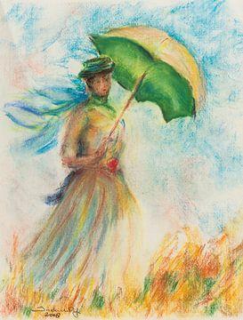 Zu Monet 1 von Ineke de Rijk