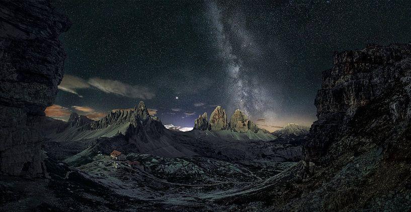 Die Milchstrasse in den Dolomiten von Thomas Weber