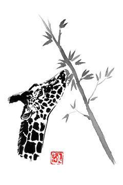etende giraf van philippe imbert