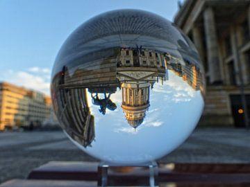 Blick auf den Deutschen Dom am Gendarmenmarkt van schroeer design
